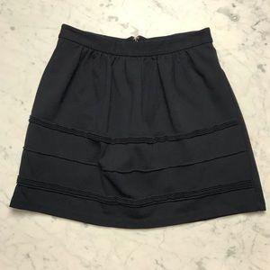 J.Crew Factory Ruffle A Line Short Mini Skirt